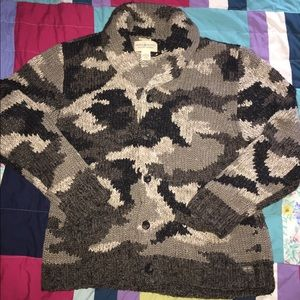 Denim&Supply by Ralph Lauren camo cardigan